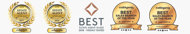 WORCESTERSHIRE'S AWARD WINNING SALES & LETTING AGENTS